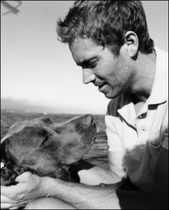 paul walker and dog